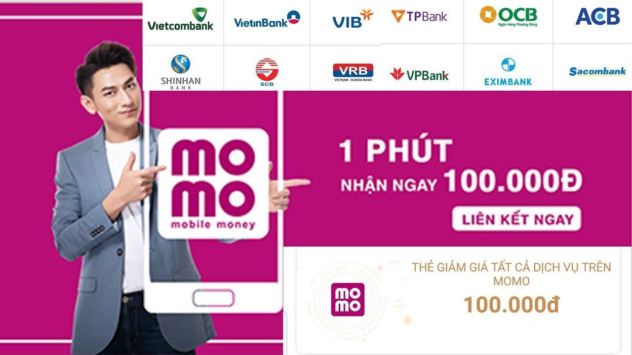 Hướng dẫn nhận 100.000Đ hoàn toàn miễn phí với MOMO