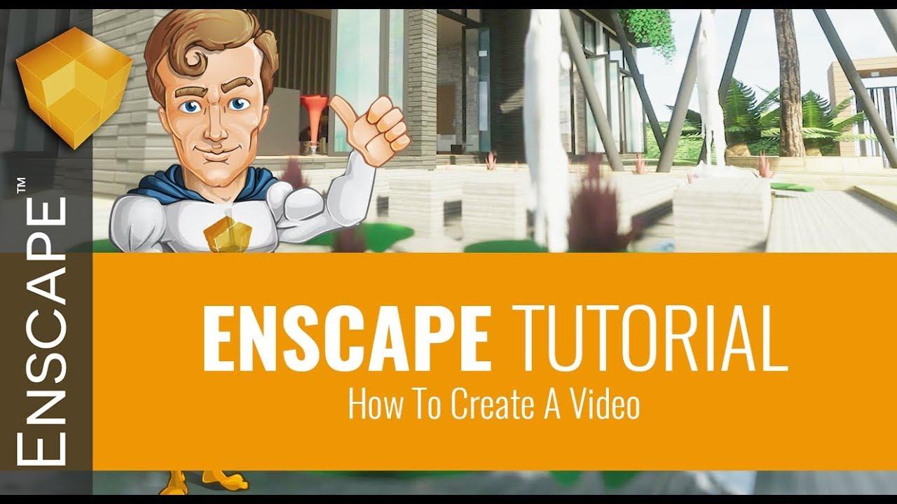 Hướng dẫn Render Video theo đường dẫn- Enscape 2.2
