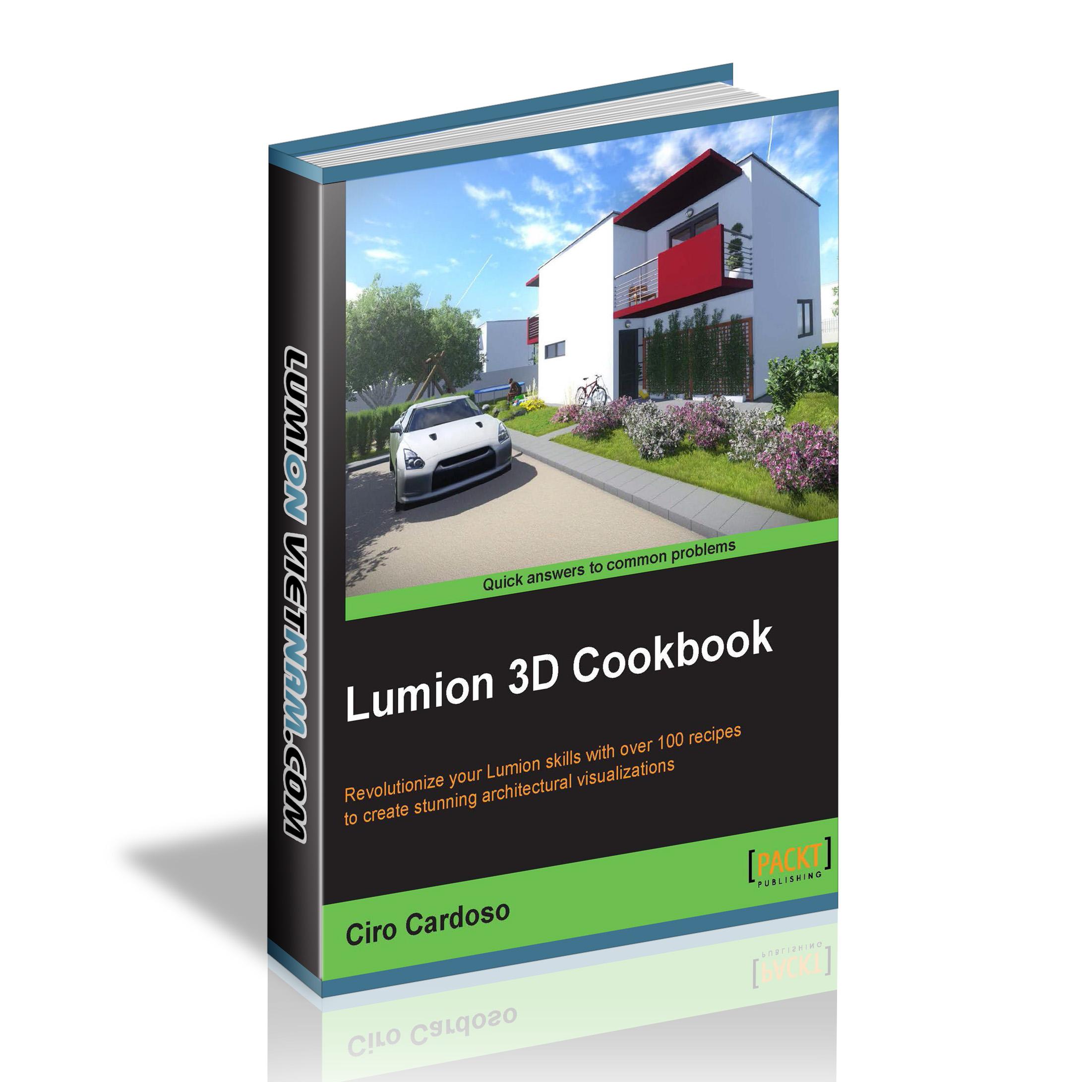 Lumion 3D Cookbook – Lumion Việt Nam