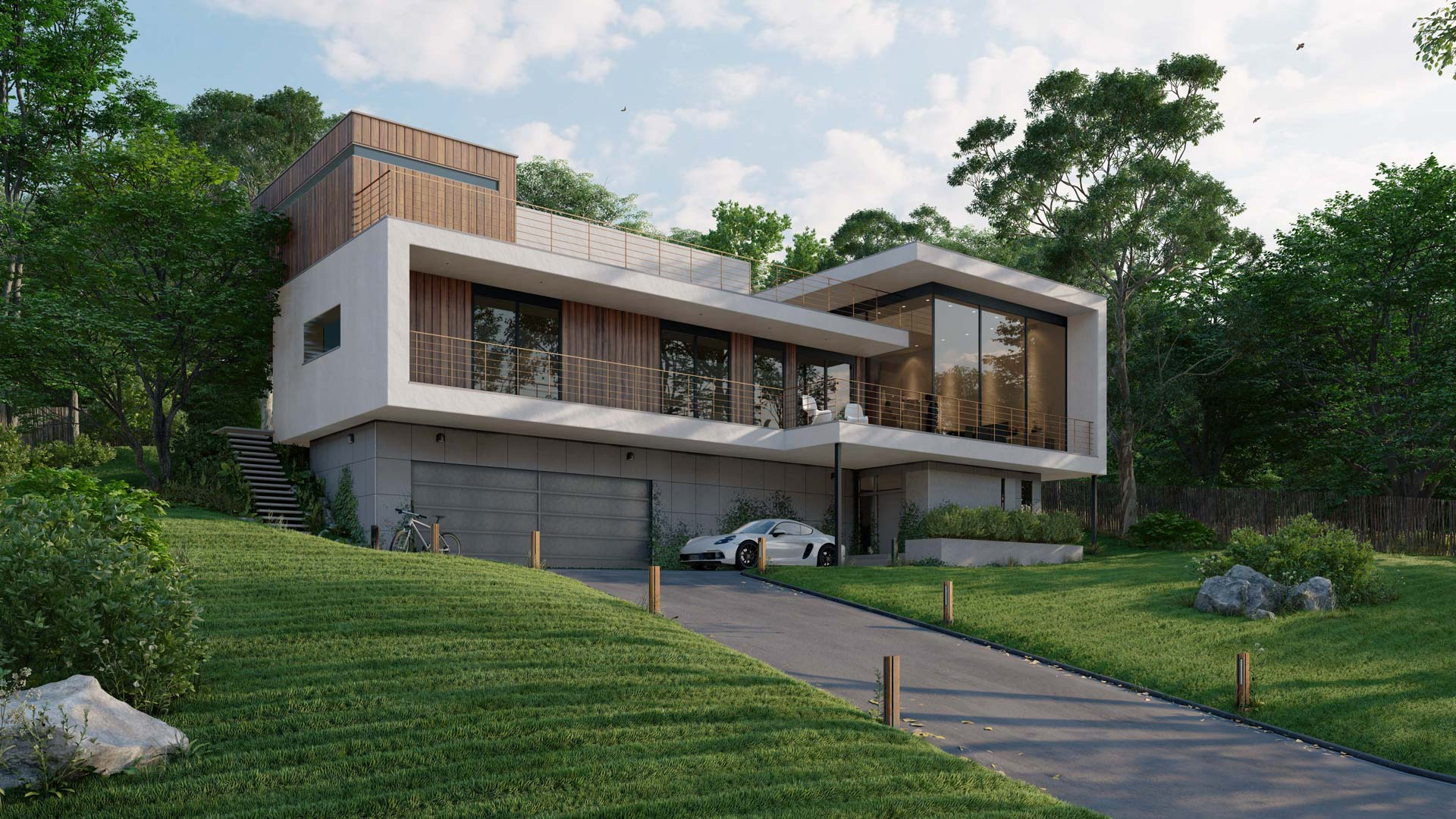 Lumion exterior long shot | Lumion Architectural Rendering